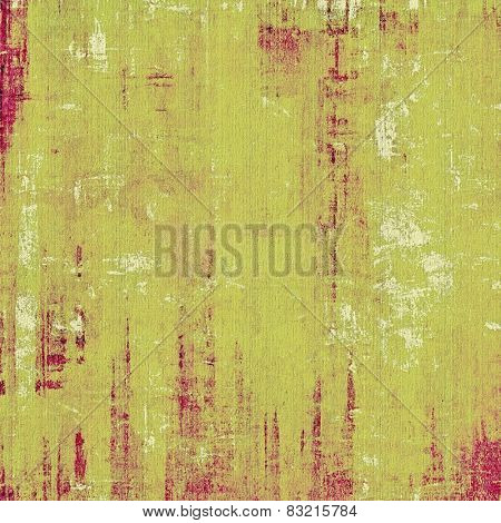 Vintage old texture for background. With different color patterns: green; purple (violet); pink