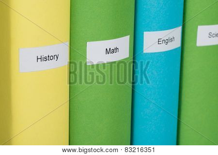 Different Subject Books