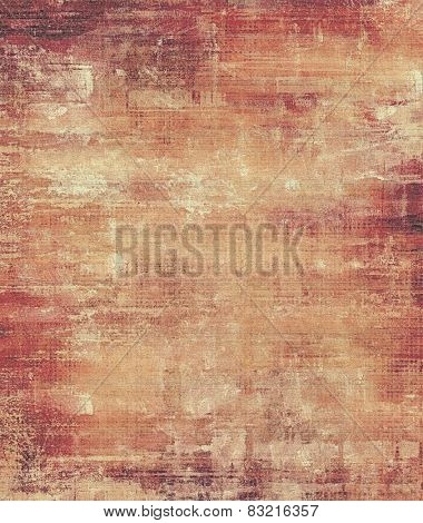 Vintage textured background. With different color patterns: yellow (beige); brown; purple (violet); pink