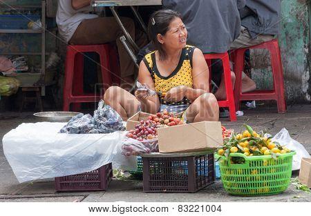 Street Fruit Vendor