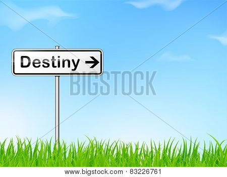 Destiny Sign