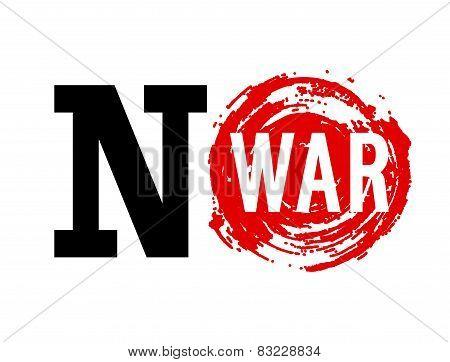 No War Banner.