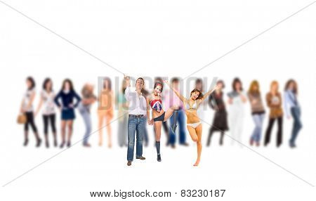 Blurred Background Business Isolated