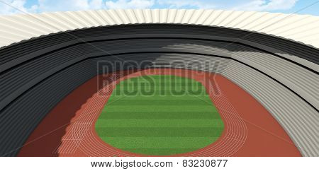 Athletics Stadium Day