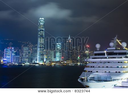 Hong Kong Night And Cruise