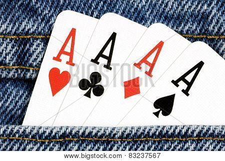 Aces In Pocket