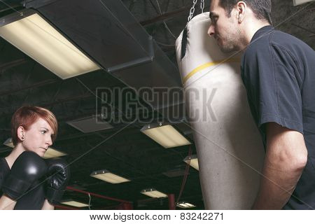 sport, fitness, lifestyle and people concept - woman with person