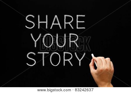 Share Your Story Blackboard