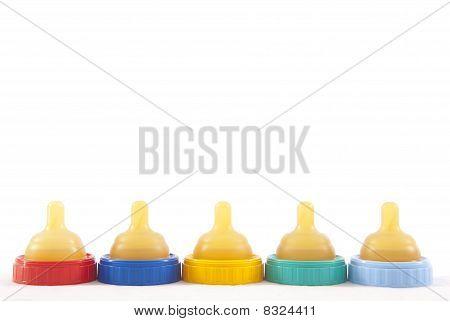 Baby bottle nipples