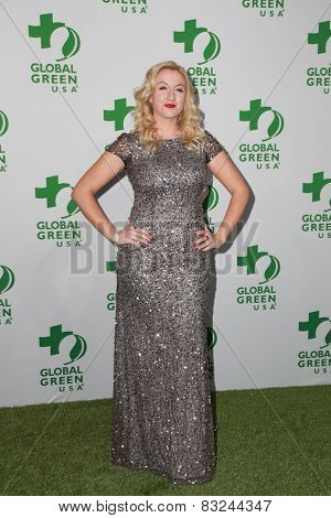 LOS ANGELES - FEB 18:  Laura Linda Bradley at the Global Green USA's 12th Annual Pre-Oscar Party at a Avalon on February 18, 2015 in Los Angeles, CA