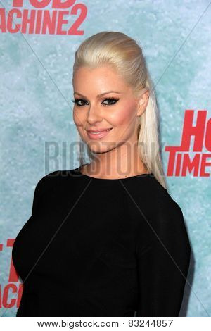 LOS ANGELES - FEB 18:  Maryse Ouellet at the