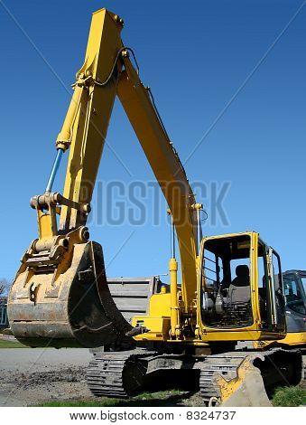 Vertical Mechanical Digger