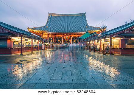 Tokyo - Sensoji, Temple In Asakusa, Japan