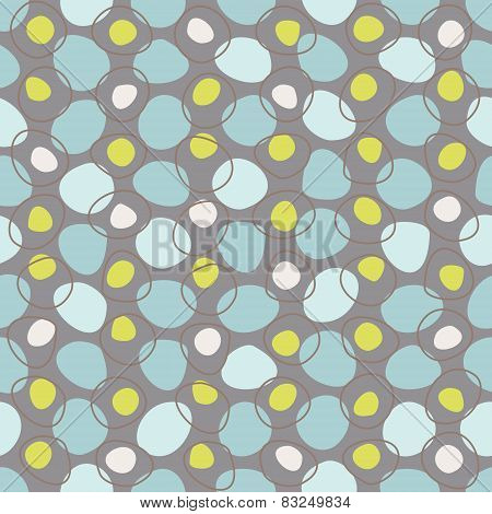 Vector vintage geometric abstract seamless pattern