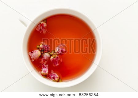 A Cup Of Tea From The Flowers Of Roses