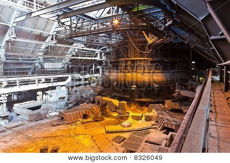 Blast furnace workshop