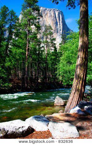 El Capitan, Tunnel View, panorama, Valley, Bridalveil Fall, Half Dome, waterfall, fall, Yosemite Nat