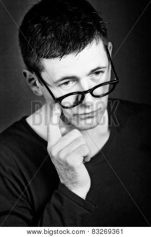 Guy Thinking