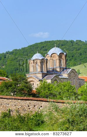 Amazing church monastery complex