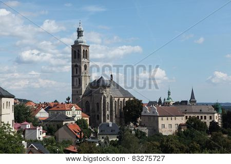 Saint James Church in Kutna Hora, Czech Republic.