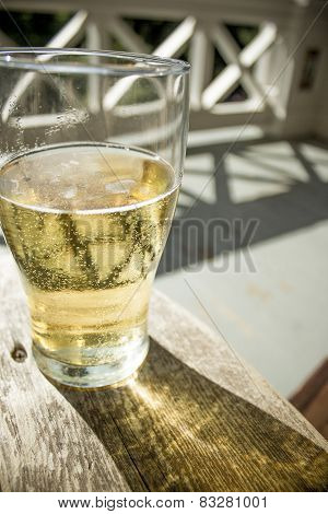 Beer on a warm summer day