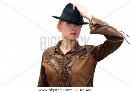 Beautiful Sexy Cowgirl