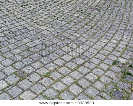 Square Stones Pile, Street Textured Background