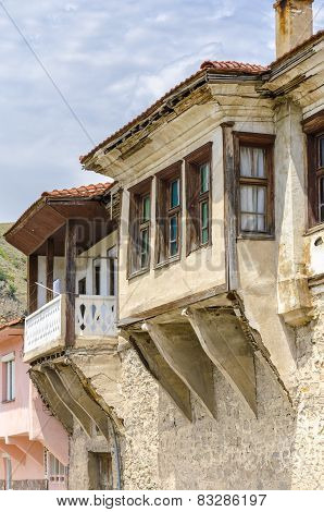 Old traditional house in Ohrid, Macedonia