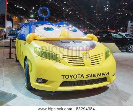 SpongeBob Toyota Sienna