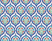 foto of ottoman  - Seamless pattern design inspired by the Ottoman decorative arts - JPG