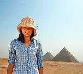 Teenage Girl Tourist In Egypt poster