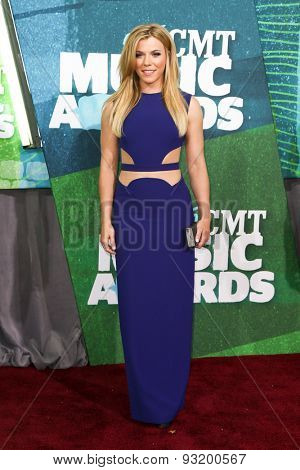 NASHVILLE, TN-JUN 10: Singer Kimberly Perry of The Band Perry attends the 2015 CMT Music Awards at the Bridgestone Arena on June 10, 2015 in Nashville, Tennessee.