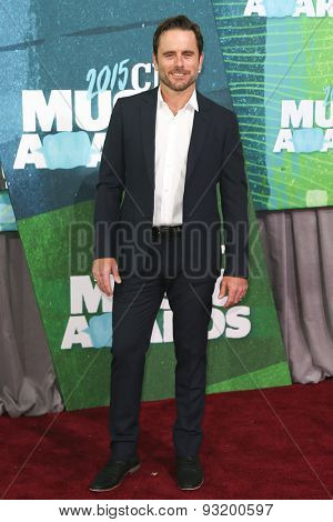 NASHVILLE, TN-JUN 10: Actor Charles Esten attends the 2015 CMT Music Awards at the Bridgestone Arena on June 10, 2015 in Nashville, Tennessee.