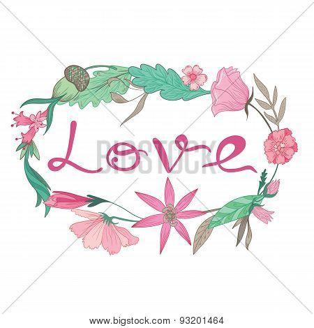 Love Lettering Vignette