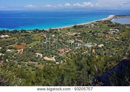 Agios Ioannis Beach near the town of Lefkada