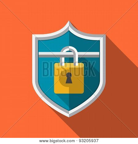 Guard Shield with Padlock