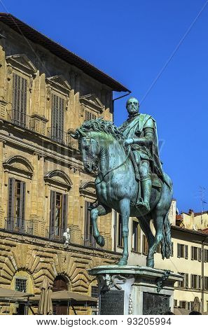 Statue Of Cosimo I, Florence, Italy