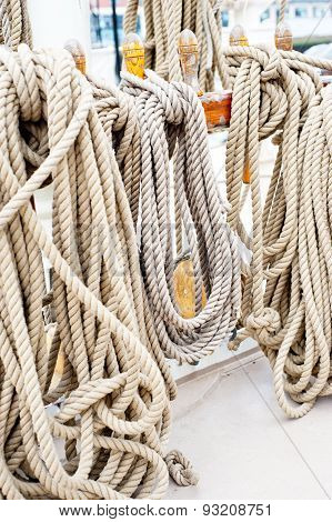 Marine Ropes And Tackles