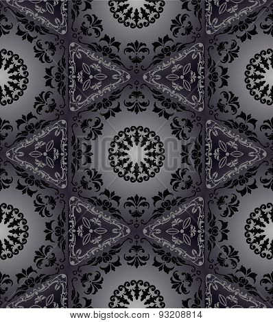 Hexagonal seamless tapestry