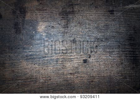 Texture Of Wooden Surface With Spots
