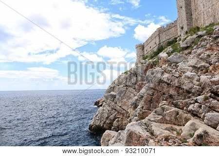 Beautiful view of sea and rocks