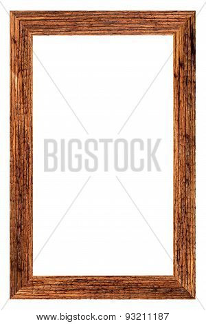 wood of picture frame