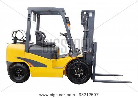 Loader isolated under the white background