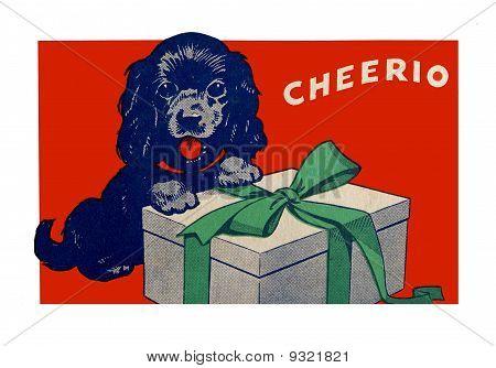 Arte de Natal vintage