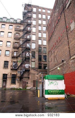 Abandoned Urban Landscape