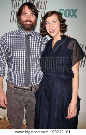 LOS ANGELES - JUN 10:  Will Forte, Kristen Schaal at the FOX's