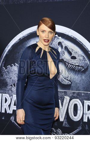 LOS ANGELES - JUN 9:  Bryce Dallas Howard at the