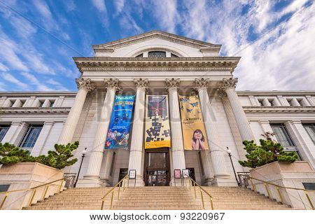 WASHINGTON - APRIL 12, 2015: The National Museum of Natural History in DC.