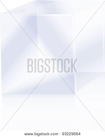 Ice Cube Ice Block Icon Vector Illustration