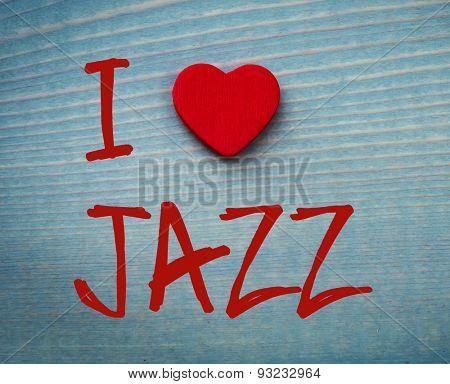 I love jazz Concept.